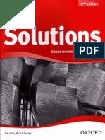 Falla Tim Davies Paul a Solutions Upper-Intermediate Workbook