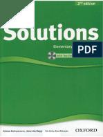 Solutions Elementary 2nd Teacher's Book