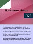 History of Nonwovens