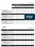 Inspection and Audit Checklist (JGC Audit)