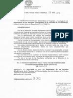 Resolución CDFH No 006-2013 - Reglamento de Revistas Disciplinares