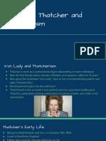 margaret thatcher and thatcherism