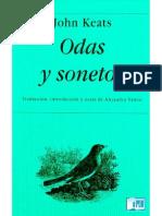 John Keats Odas y Sonetos
