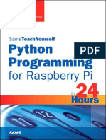 Python Programming for Raspberry Pi - Richard Blum.epub