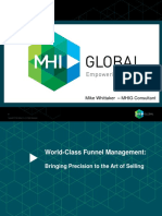 MHI Global Funnel Management Workshop - Mile Whittaker