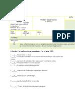 Evaluación Plan Lector 3º Contar Con Los Dedos MD