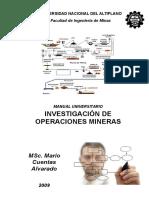 Investigacion de Operaciones Mineras Word