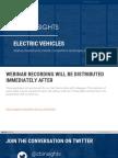 CB Insights Electric Vehicles Webinar