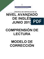ING Avanzado ComprensionLectora JUN2013 Corrector