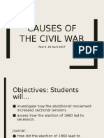 Causes of the Civil War 3