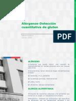 Clase I Alérgenos Detección Cuantitativa Gluten