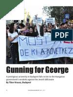 Gunning for George Soros