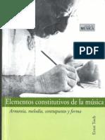 Elementos Constitutivos de La Musica