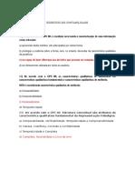 Exercicio e Gabarito _cpc 00