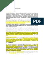 Obligaciones en materia de los derechos privados de argentina