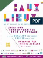 Dossier Presse - Beaux Lieux 2017