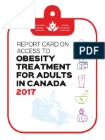 Report Card on Access to Obesity Treatment for Adults in Canada