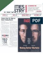 Securities Industry News