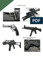 Armas de Fuego Trabajo