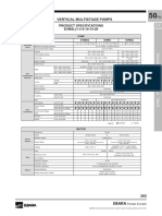 EVMS 3 Data Sheets