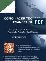 Cómo Hacer Teología Evangélica