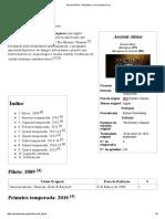Ancient Aliens – Wikipédia, A Enciclopédia Livre