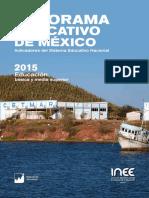 INEE Panorama Educativo de Mexico 2015.pdf
