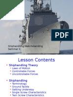 Shiphandling Warship Terminology