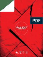 Fall 2017 Adult Fiction Catalog