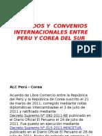 Tratados y Convenios Internacionales Entre Peru y Corea