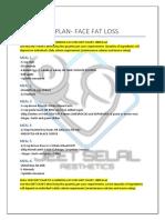 Nutrition Plan Face Fat3