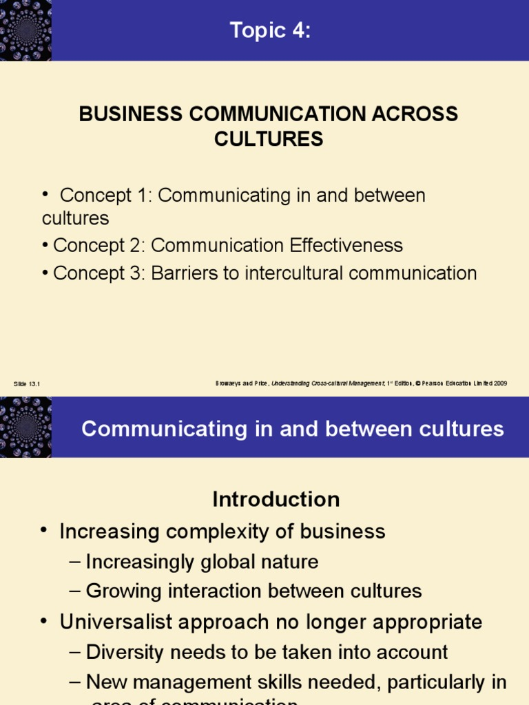 topics related to business communication
