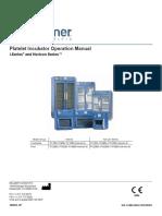 Helmer PC900i Platelet Incubator Svc Manual