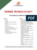 NT Procedimentos Administrativos
