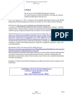 Priority Setting Process Methods Packet SEPT 7 2011