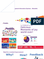 Mondelez MIS Systems