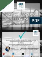 Personal Branding Check List
