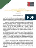 CONDEPAPA, el primer consorcio de pequeños productores de papa nativa del Perú