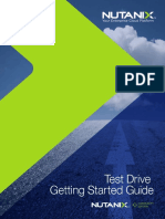 Getting Started Guide Test Drive