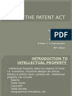 the patent act