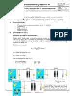 Regulacion de Voltaje Transformadores