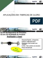 Aplicações em  Fábrica de Cloro.