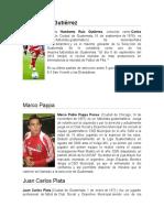5 Jugadores Destacados de Guatemala