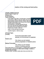 Kuopio - Determination of the zoning and land policy