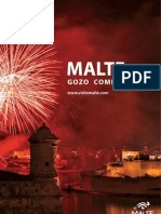 The official Malta & Gozo Brochure in French