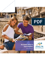 English Language Learning Malta Brochure