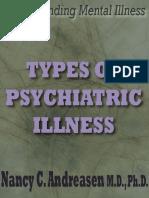Types of Psychiatric Illness