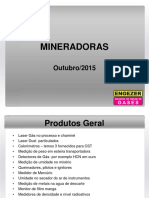 Aplicações em  Usinas mineradoras .