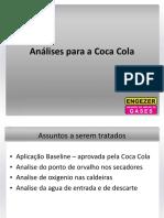 Aplicações em  Fabricas de bebidas Cola Cola