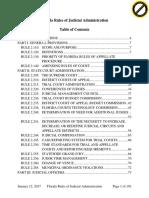 Florida Rules of Judicial Administration TOC and Citations.pdf